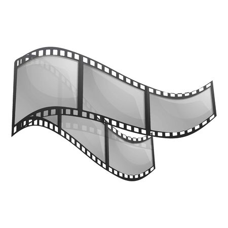Filmstrip icon. Cartoon of filmstrip vector icon for web design isolated on white background Imagens - 134611445
