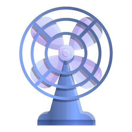 Ventilator icon. Cartoon of ventilator vector icon for web design isolated on white background