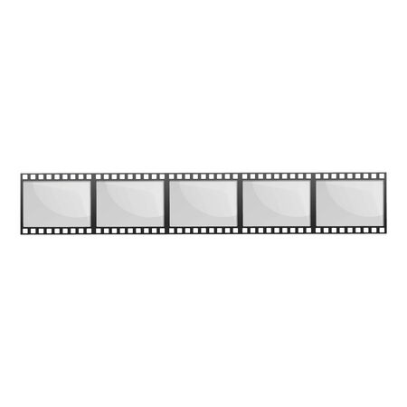Vintage filmstrip icon. Cartoon of vintage filmstrip vector icon for web design isolated on white background