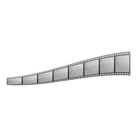 Picture film icon. Cartoon of picture film vector icon for web design isolated on white background