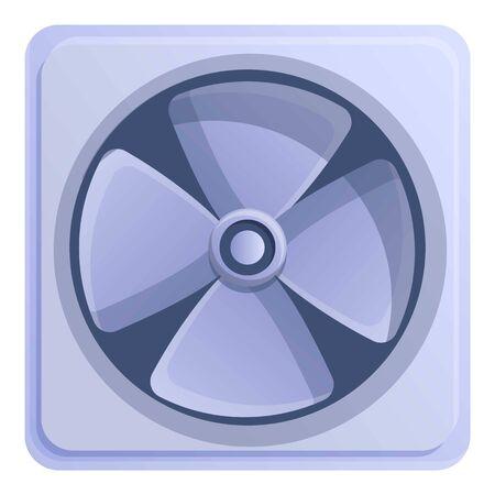 Building ventilator icon. Cartoon of building ventilator vector icon for web design isolated on white background
