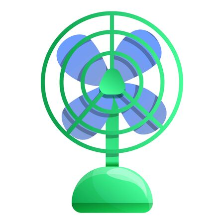 Air ventilator icon. Cartoon of air ventilator vector icon for web design isolated on white background
