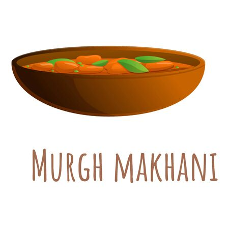 Murgh makhani icon. Cartoon of murgh makhani vector icon for web design isolated on white background
