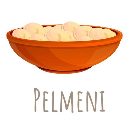 Pelmeni icon. Cartoon of pelmeni vector icon for web design isolated on white background