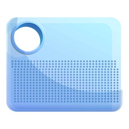Air purifier icon. Cartoon of air purifier vector icon for web design isolated on white background