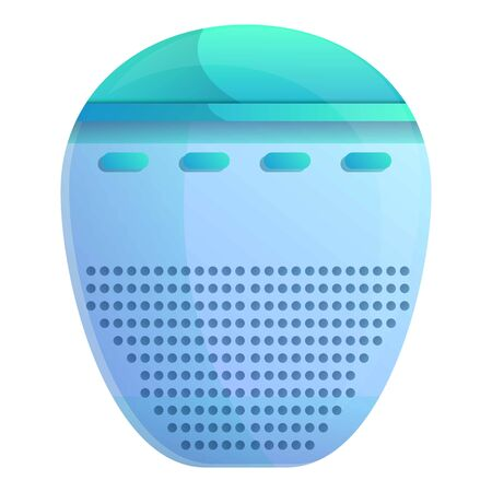 Air humidifier icon. Cartoon of air humidifier vector icon for web design isolated on white background