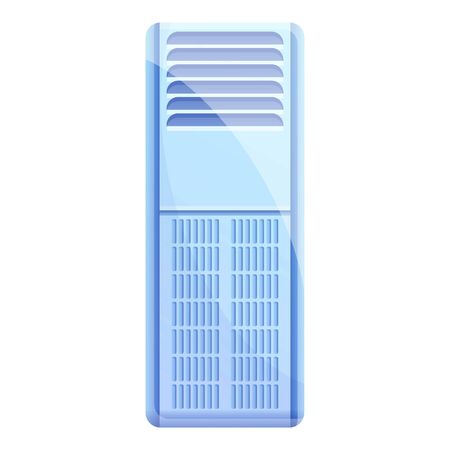 Electronic air purifier icon. Cartoon of electronic air purifier vector icon for web design isolated on white background