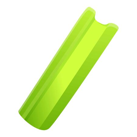 Celery icon. Cartoon of celery vector icon for web design isolated on white background Иллюстрация