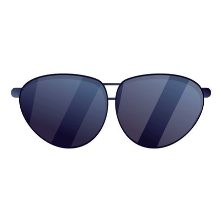 Sunglasses icon. Cartoon of sunglasses vector icon for web design isolated on white background