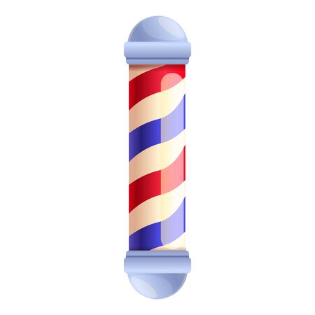 Barbershop accessory icon. Cartoon of barbershop accessory vector icon for web design isolated on white background Ilustracja