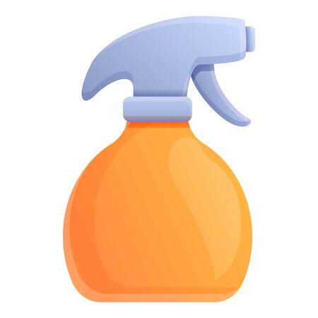 Stylist bottle spray icon. Cartoon of stylist bottle spray vector icon for web design isolated on white background