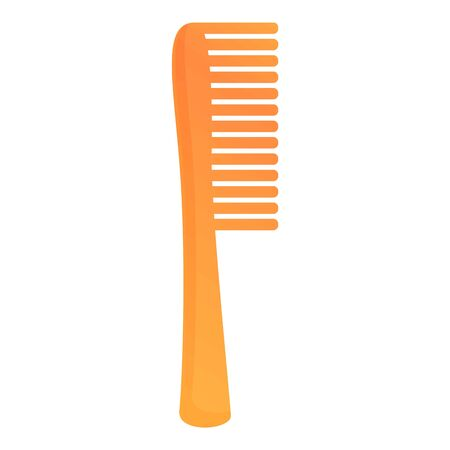 Classic hair comb icon. Cartoon of classic hair comb vector icon for web design isolated on white background