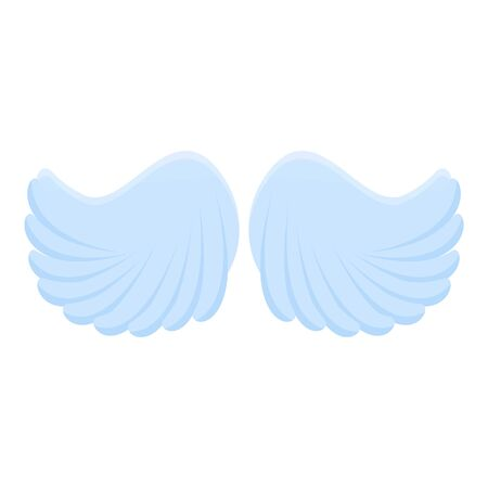 Animal wings icon. Cartoon of animal wings vector icon for web design isolated on white background Vectores