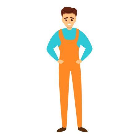 Auto mechanic icon. Cartoon of auto mechanic vector icon for web design isolated on white background