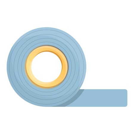 tape roll icon. Cartoon of tape roll vector icon for web design isolated on white background