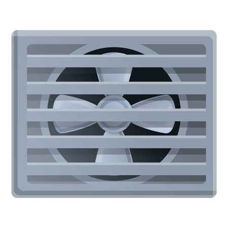 Air condition icon. Cartoon of air condition vector icon for web design isolated on white background Stock Illustratie