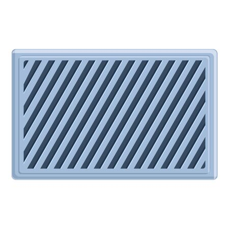 Cool ventilation icon. Cartoon of cool ventilation vector icon for web design isolated on white background