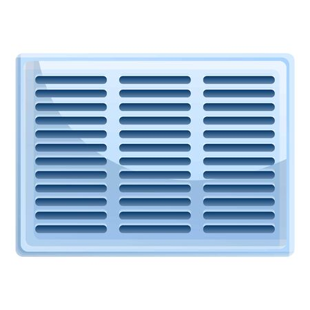Wind ventilation icon. Cartoon of wind ventilation vector icon for web design isolated on white background