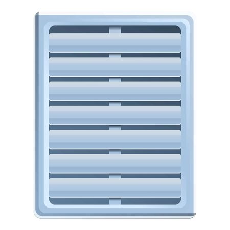 Air circulation ventilation icon. Cartoon of air circulation ventilation vector icon for web design isolated on white background
