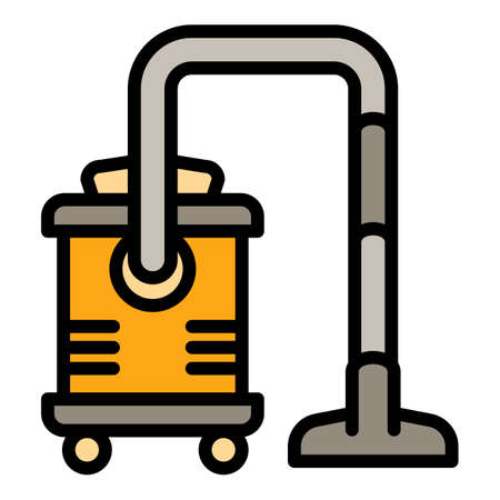 Professional vacuum cleaner icon. Outline professional vacuum cleaner vector icon for web design isolated on white background