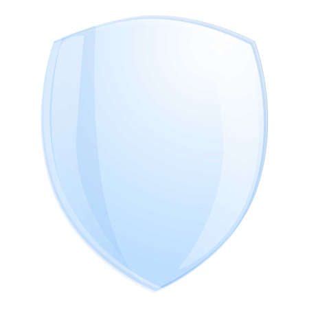 Resistant protective glass icon. Cartoon of resistant protective glass vector icon for web design isolated on white background