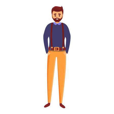 Studio art director icon. Cartoon of studio art director vector icon for web design isolated on white background 向量圖像