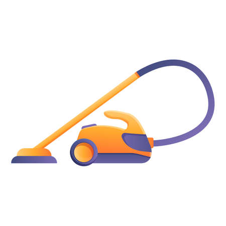 Home steam cleaner icon. Cartoon of home steam cleaner vector icon for web design isolated on white background