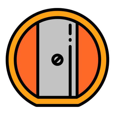 Kid sharpener icon. Outline kid sharpener vector icon for web design isolated on white background