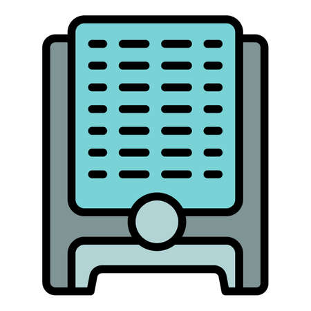 Humidifier icon. Outline humidifier vector icon for web design isolated on white background