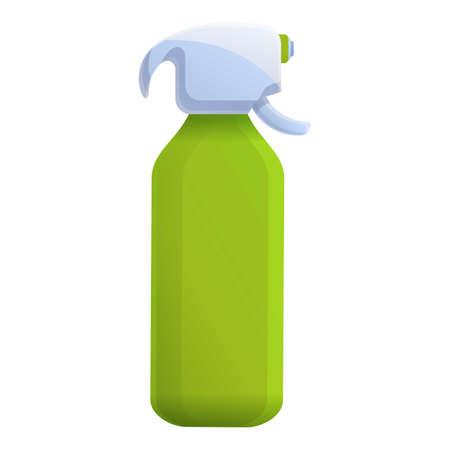 Fertilizer spray bottle icon. Cartoon of fertilizer spray bottle vector icon for web design isolated on white background