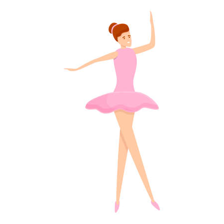 Ballerina tutu icon. Cartoon of ballerina tutu icon for web design isolated on white background