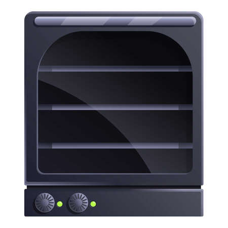 Manual convection oven icon. Cartoon of manual convection oven vector icon for web design isolated on white background