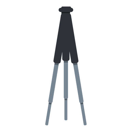 Tripod icon. Cartoon of tripod vector icon for web design isolated on white background
