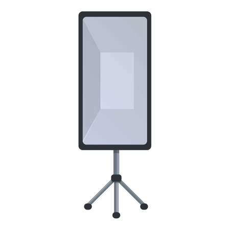 Light tripod icon. Cartoon of light tripod vector icon for web design isolated on white background