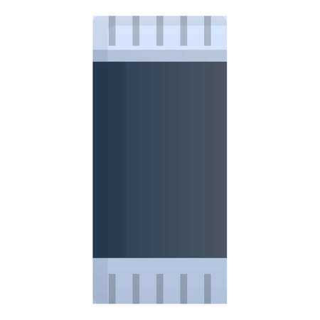 Technology capacitor icon. Cartoon of technology capacitor vector icon for web design isolated on white background
