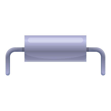 Industry capacitor icon. Cartoon of industry capacitor vector icon for web design isolated on white background