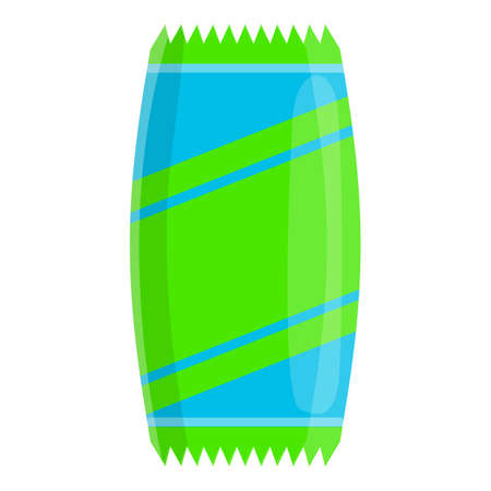 Muesli bar icon. Cartoon of muesli bar vector icon for web design isolated on white background