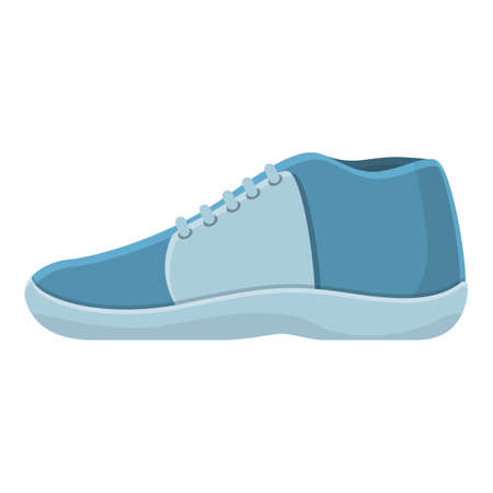 Trendy sneakers icon. Cartoon of trendy sneakers vector icon for web design isolated on white background