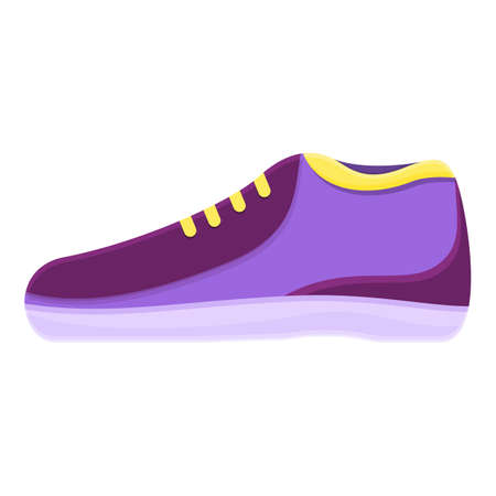 Shop sneakers icon. Cartoon of shop sneakers vector icon for web design isolated on white background Ilustracja