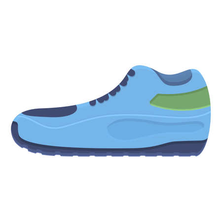 Winter sneakers icon. Cartoon of winter sneakers vector icon for web design isolated on white background Vettoriali