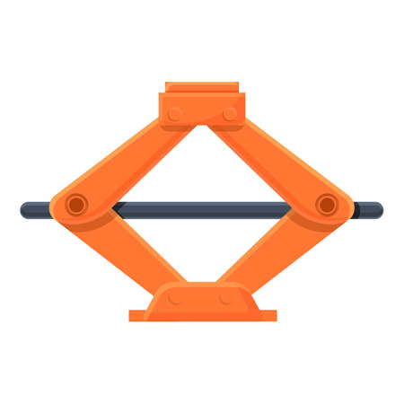 Car lifter icon. Cartoon of car lifter vector icon for web design isolated on white background 向量圖像