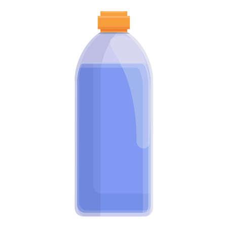 Drink bottle icon, cartoon style Vettoriali