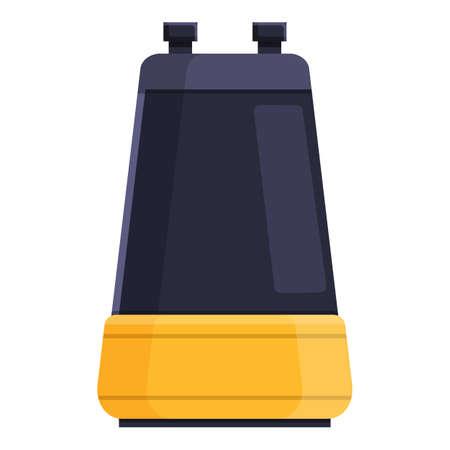 Small water pump icon, cartoon style Stock Illustratie