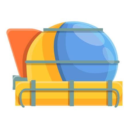 Dive bathyscaphe icon, cartoon style