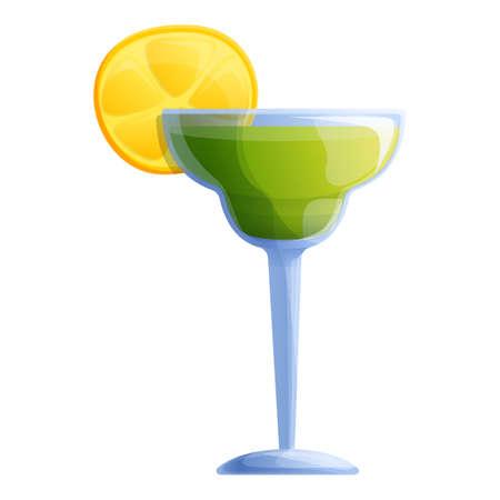Tequila icon, cartoon style Фото со стока