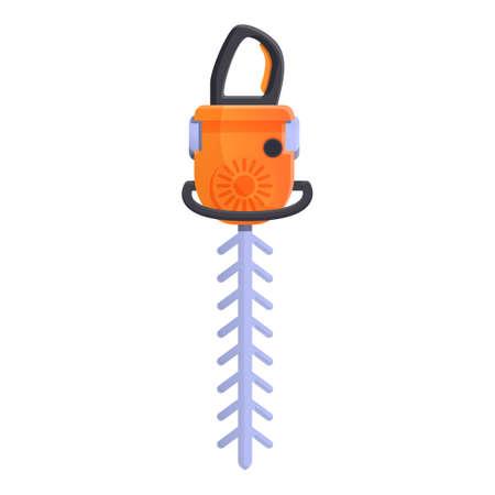 Jackhammer drill icon, cartoon style 版權商用圖片