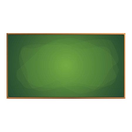 Wooden chalkboard icon, cartoon style Ilustracja