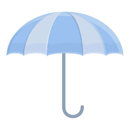 Umbrella icon, cartoon style Ilustracja