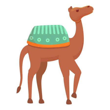 Desert camel icon. Cartoon of Desert camel vector icon for web design isolated on white background Vector Illustratie