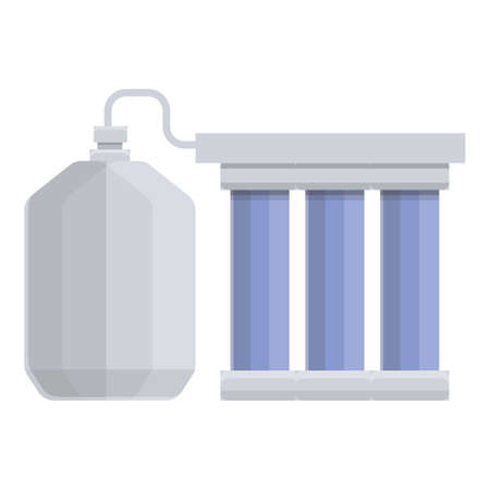 Stage water purification icon. Cartoon of Stage water purification vector icon for web design isolated on white background